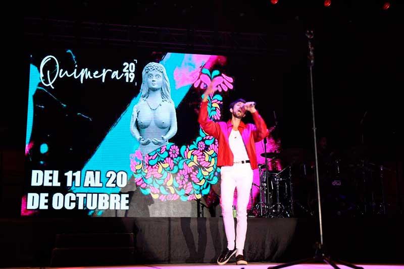 Se presenta Esteman en el festival Quimera 2019