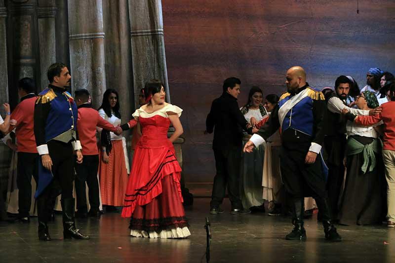 Todo listo para la aclamada ópera Carmen en Toluca