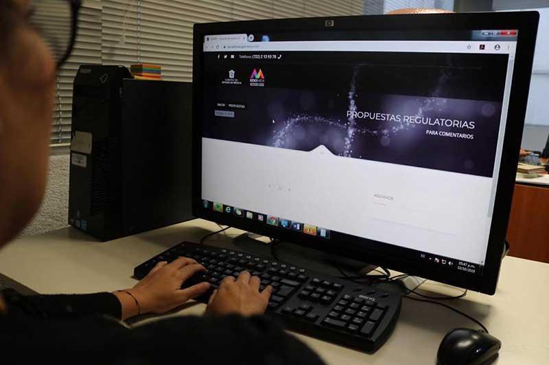 Gobierno del Edoméx lanza plataforma informática para agilizar trámites