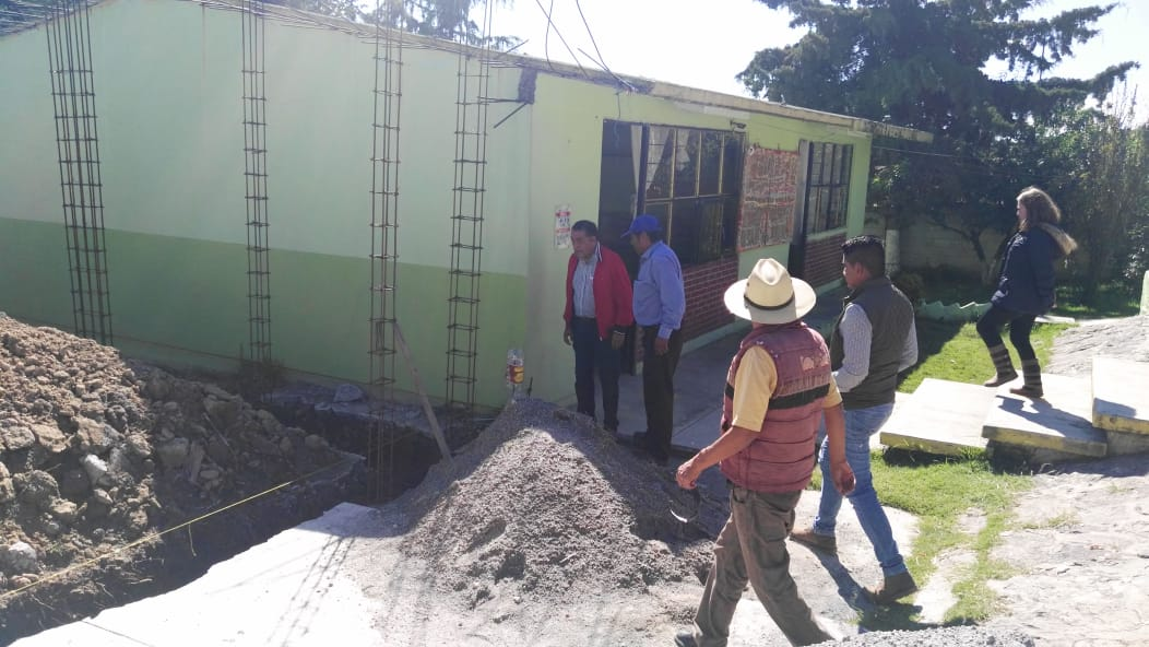 Infraestructura educativa, principal prioridad de Luis Maya Doro