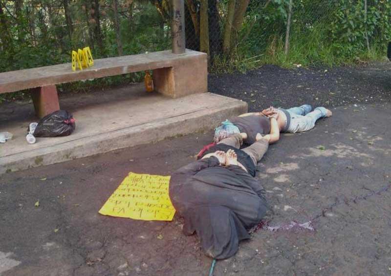 Asesinan a tres presuntos prestamistas Colombianos en Valle de Bravo