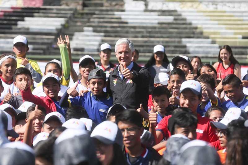 Promueve GEM actividad deportiva entre juventud y niñez Mexiquense con Copas EdoMéx: Alfredo del Mazo