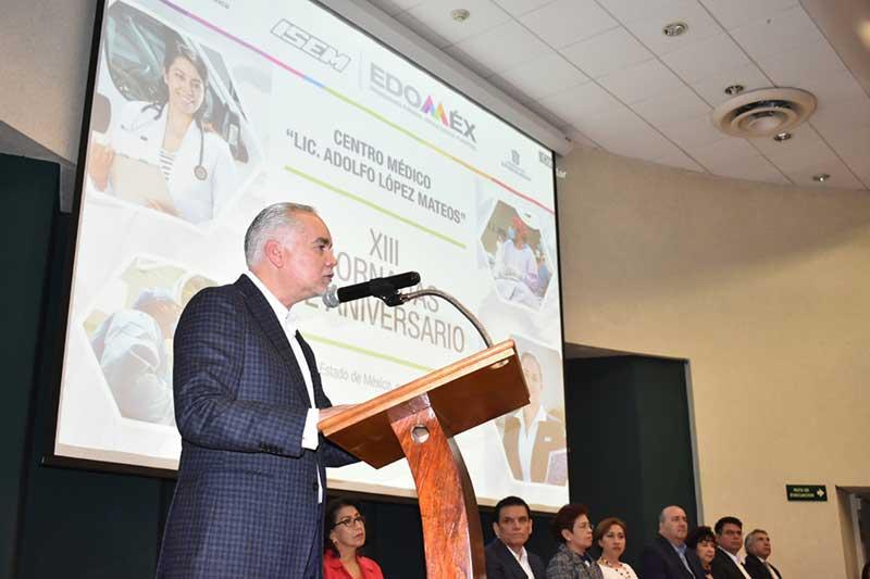 Celebra Centro Médico Adolfo López Mateos 13 años al servicio de los Méxiquenses