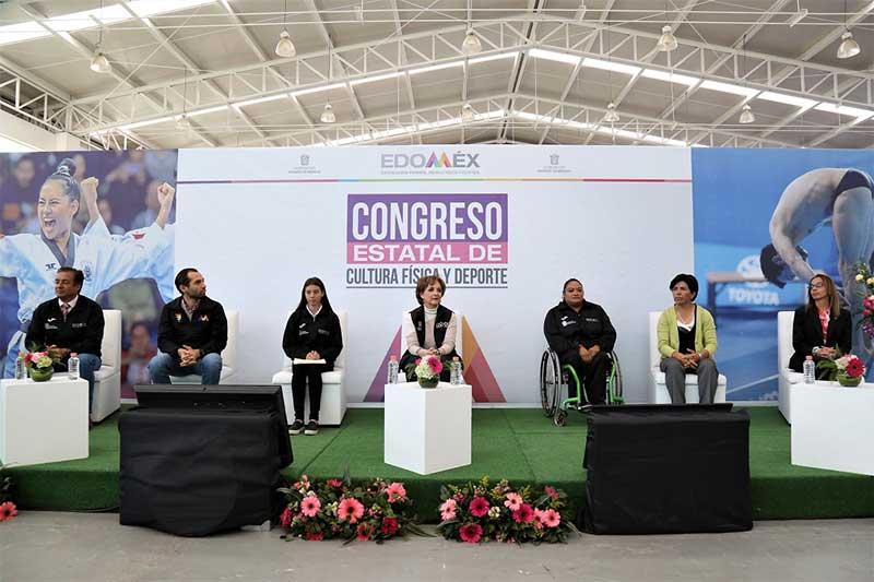 Realizan primer Congreso de Cultura Física y Deporte en el EdoMéx