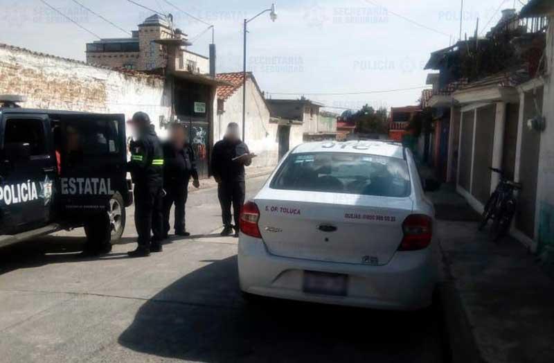 Detienen a taxista relacionado con robos a tiendas en Toluca