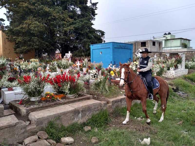 Saldo blanco durante el Día de Muertos en Toluca