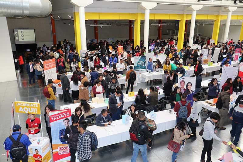 Gobierno de Toluca y empresarios organizan Tercera Feria del Empleo