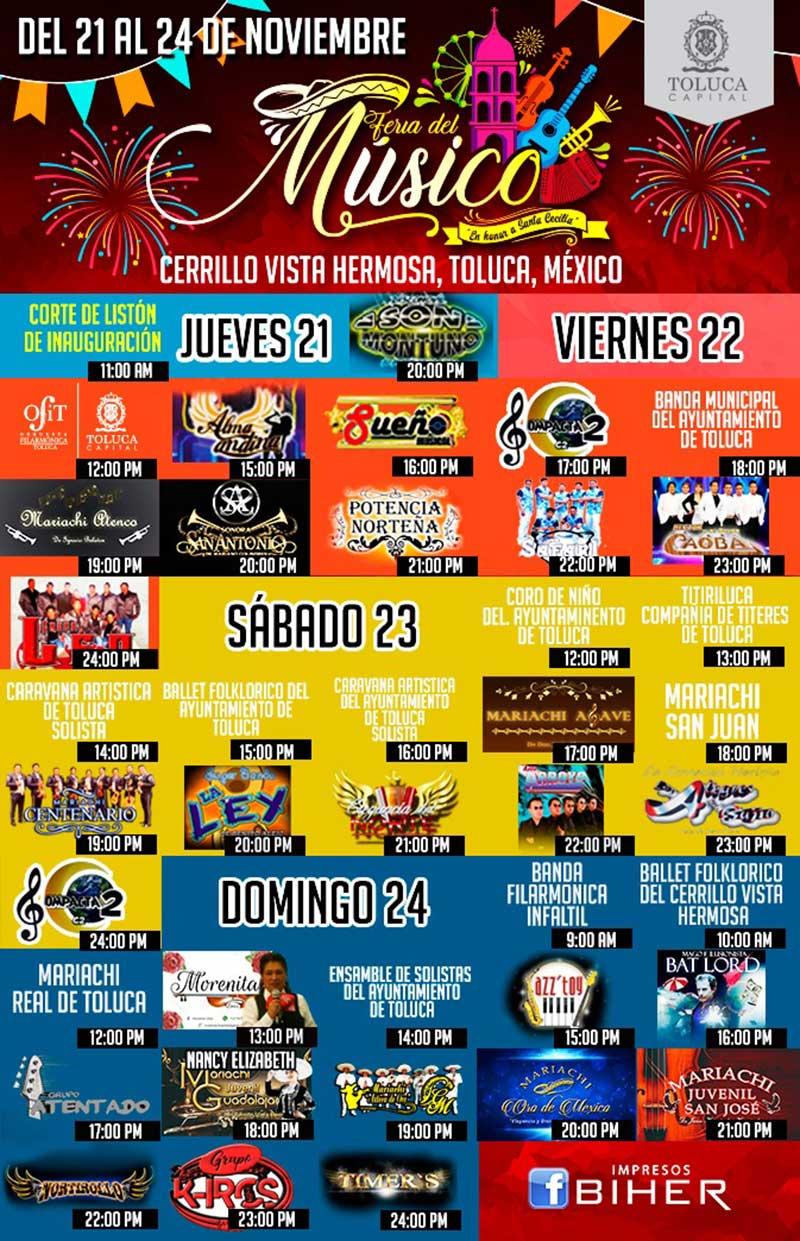 Toluca será sede de la Feria del Músico