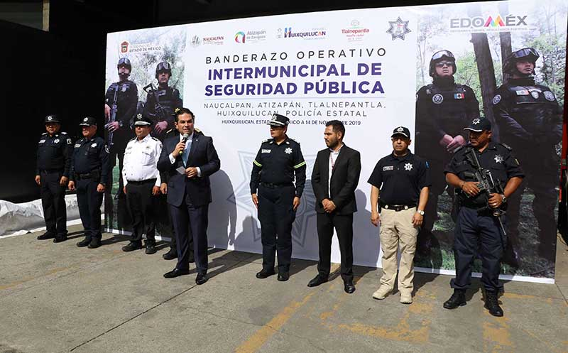 Arranca operativo Intermunicipal Huixquilucan