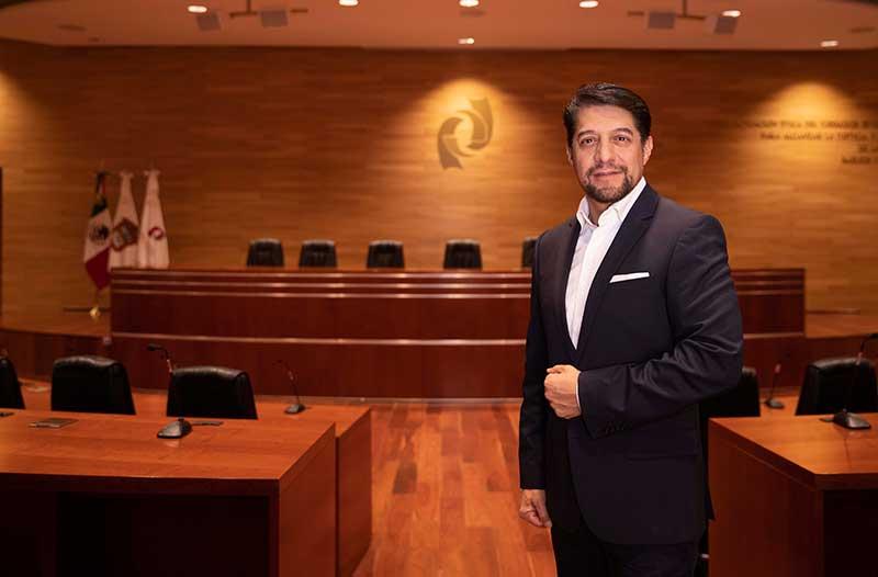 Sergio Medina rendirá quinto informe al frente del Poder Judicial