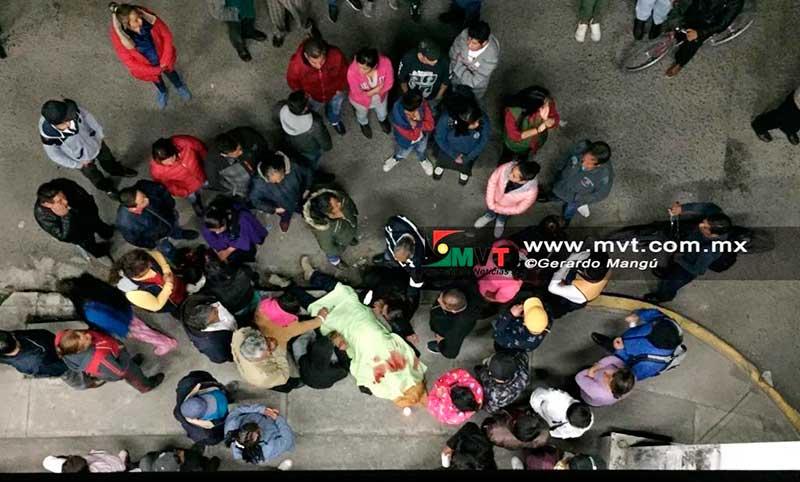 Asesinan a un hombre por resistirse al asalto y defender a su esposa en Toluca
