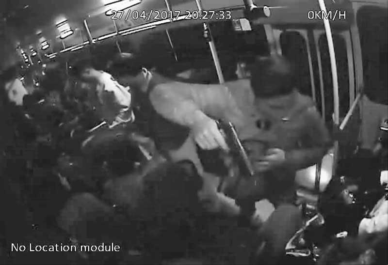 El robo en transporte público será catalogado como delito grave