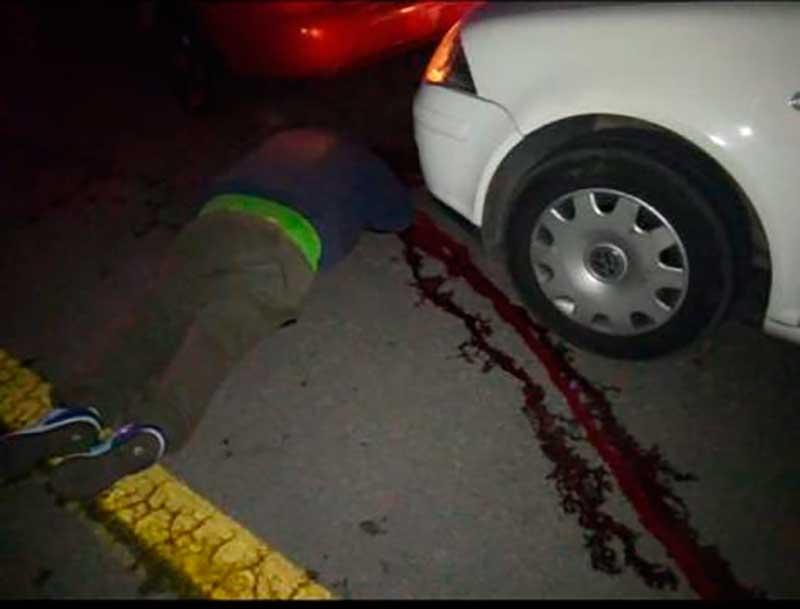 Asesinan a seis personas al salir de una fiesta en Joquicingo