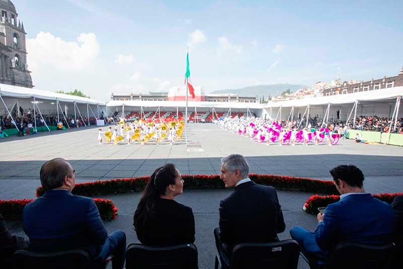 Gobernador encabeza ceremonia por el 109 aniversario de la Revolución Mexicana