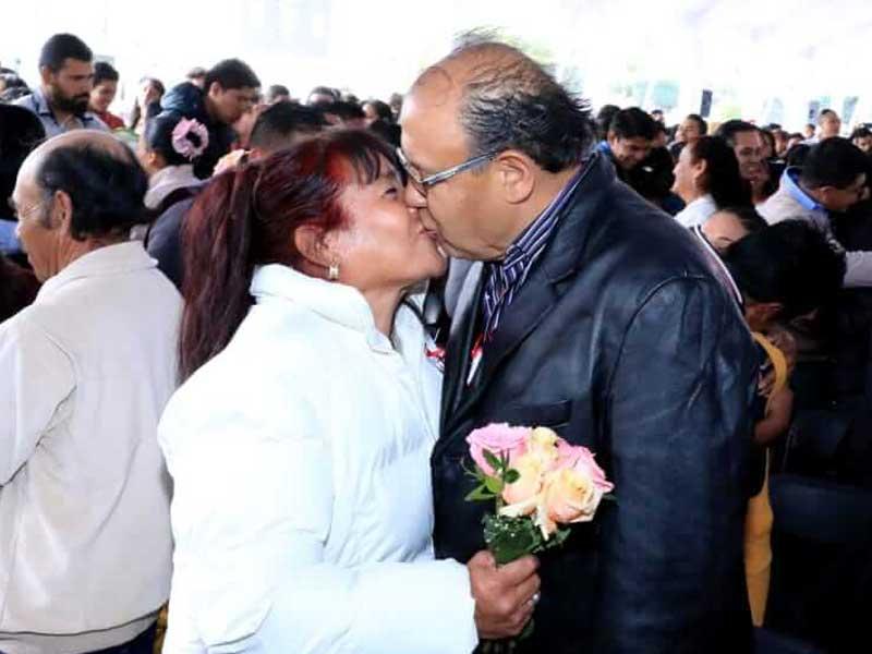 Se casaron 194 parejas en Toluca