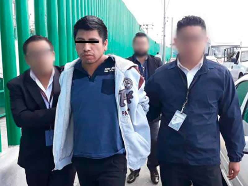 Detienen al presunto asesino de Miriam Jazmín encontrada en San Pablo Autopan