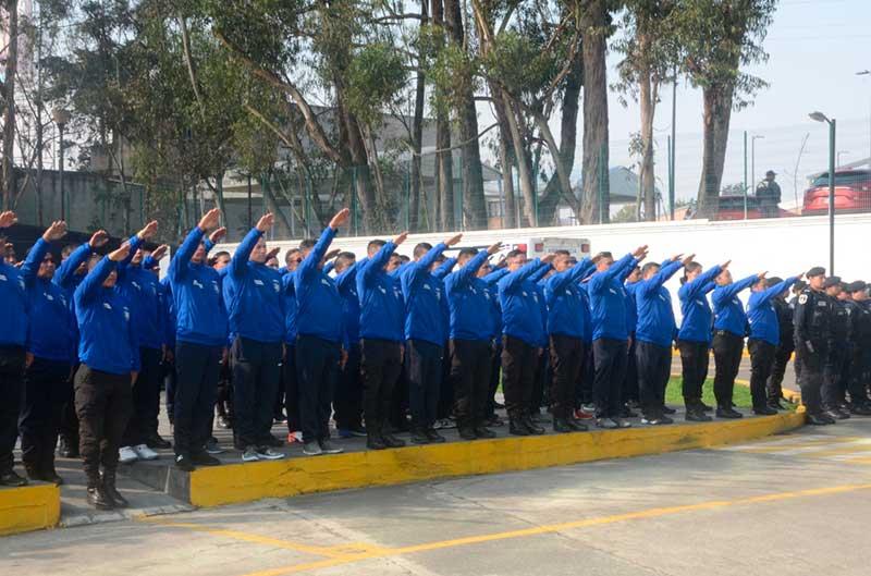 Secretaría de Seguridad participa en juegos latinoamericanos de policías y bomberos