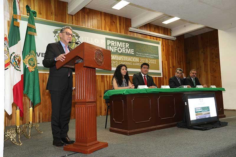 UAEM garantiza una educación de alta calidad: Alfredo Barrera