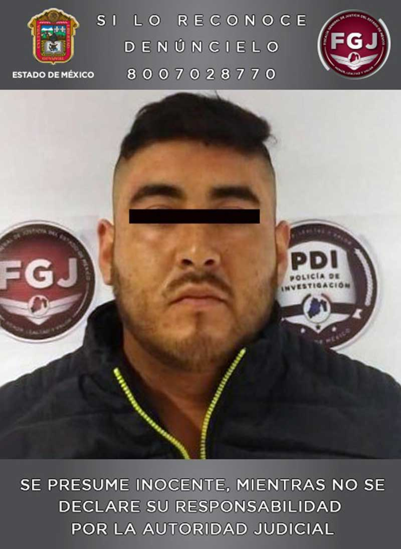 Vinculan a proceso a sujeto investigado por Homicidio de un hombre en Toluca