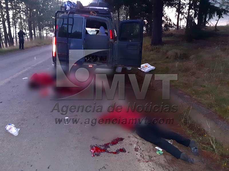 Asesinan a tres integrantes de una Banda, seis resultan heridos por emboscada en Tixca