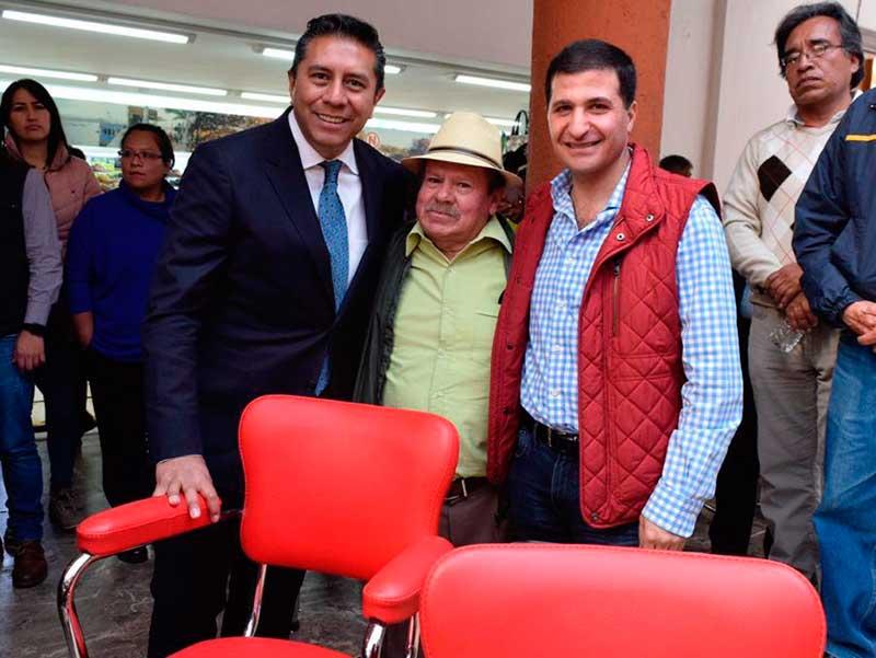 Equipa Juan Maccise a aseadores de calzado de Toluca