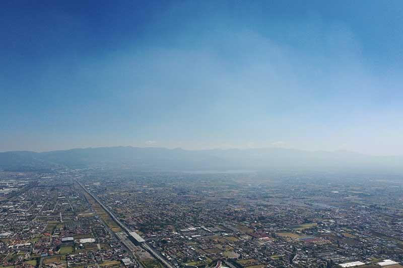 """Calidad del aire """"extremadamente mala"""" en el Valle de Toluca y Tianguistenco"""