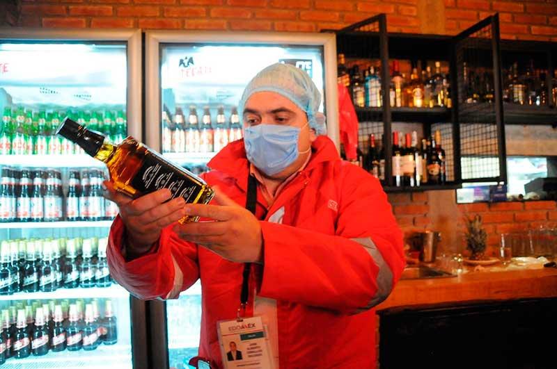 La Coprisem vigila la venta de alcohol por festejos navideños