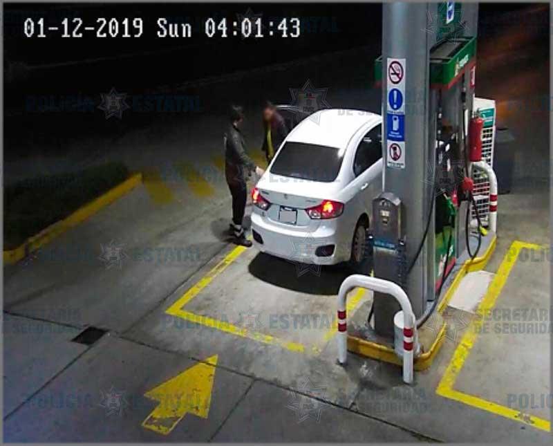 Detienen a presunto responsable de robo con violencia a gasolinera de Toluca