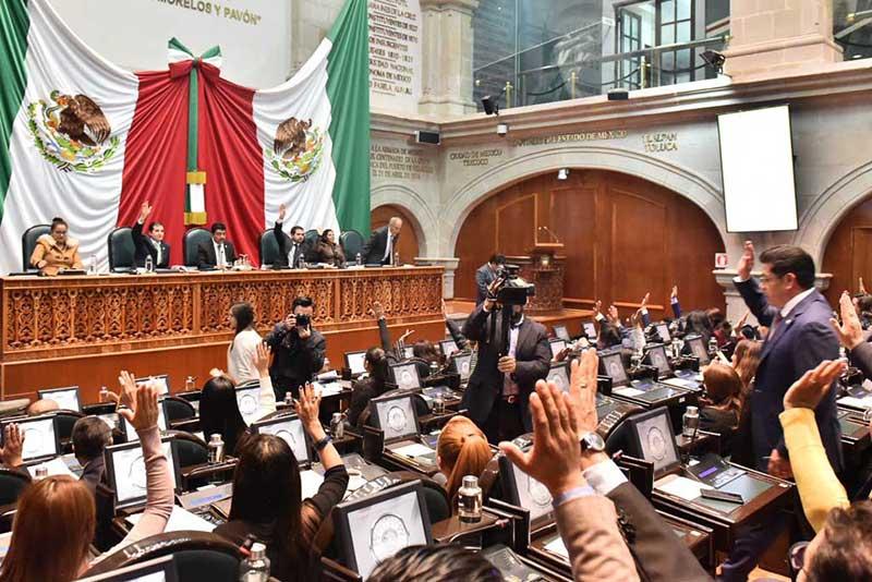 Diputados del Edomex avalan por unanimidad el Paquete Fiscal para el 2020