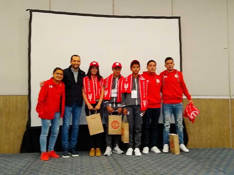 Cuatro futbolistas participantes en Copa Edoméx son invitados al Club Deportivo Toluca