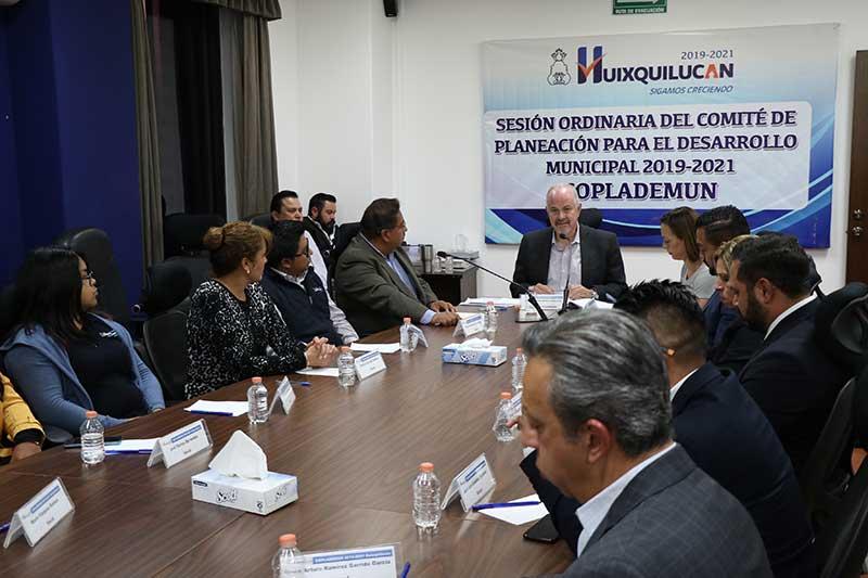 Huixquilucan avanza con su plan de desarrollo municipal