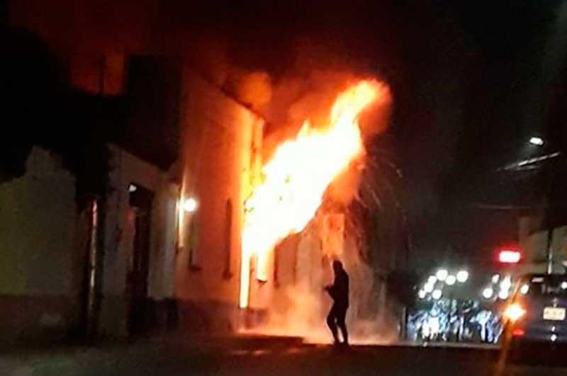 Incendio en Lerma cobró la vida de tres persona