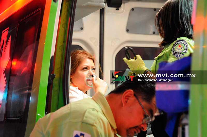Intoxicadas 11 personas por inhalar peróxido en una academia de belleza en Toluca
