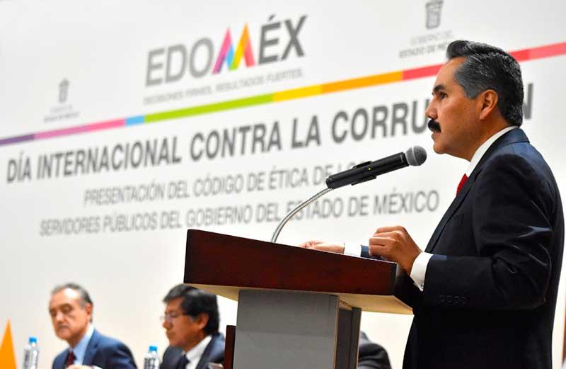 Presentan Código de Ética para los servidores públicos del Edoméx