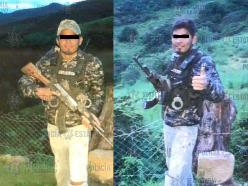 En Texcaltitlán policías detienen a presuntos halcones a bordo de motos robadas