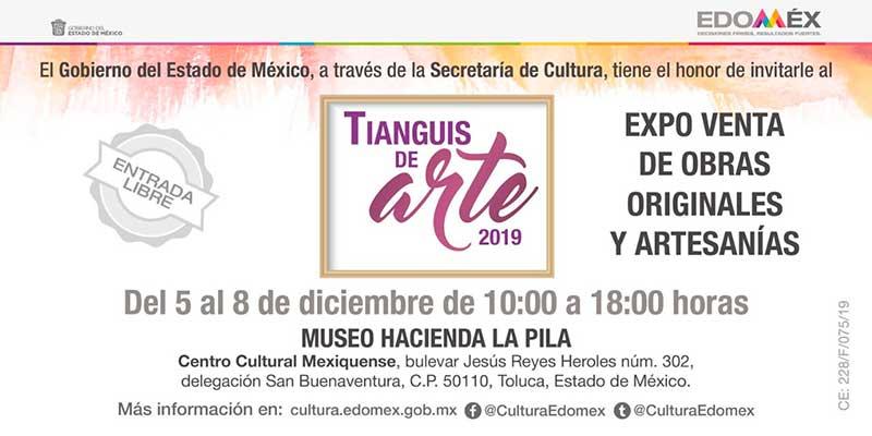 Alistan Tianguis del Arte en el Centro Cultural Mexiquense