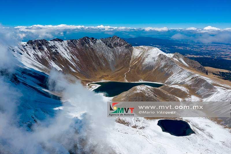 Los parques del Izta-Popo y nevado de Toluca permanecerán cerrados