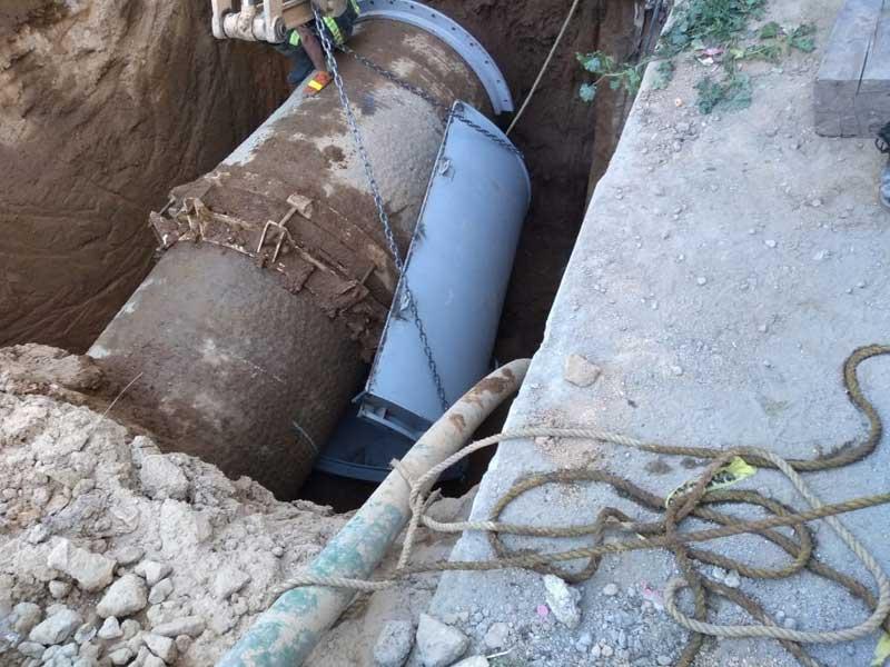 Concluye CAEM reparación de fugas de agua en Tultitlán y Tlalnepantla