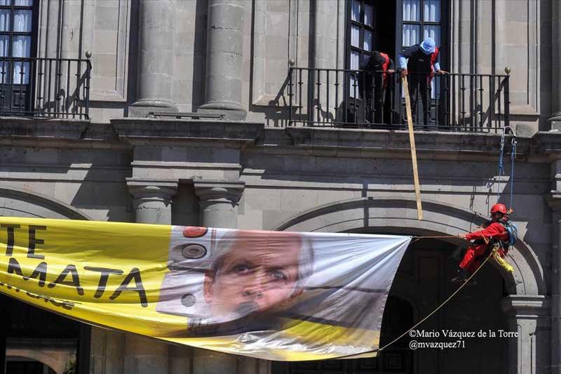 Greenpeace rechaza diálogo a puerta cerrada con el Estado de México