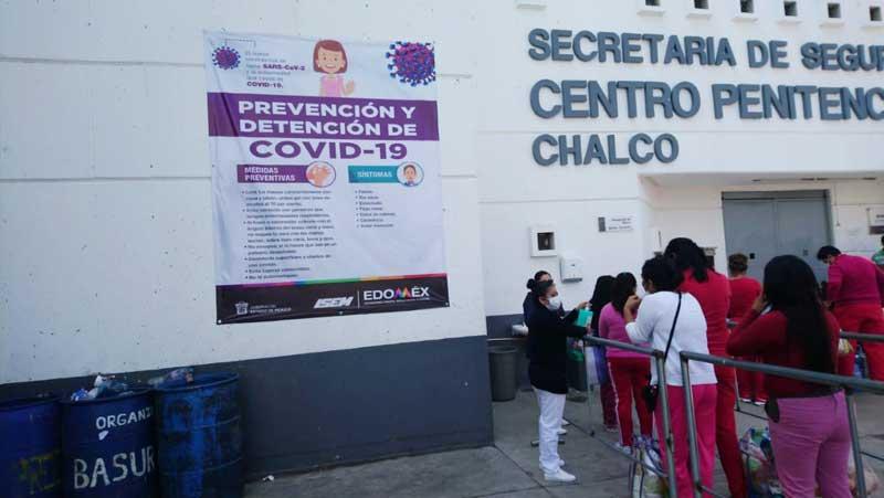 Verifica Derechos Humanos medidas contra COVID-19 en cárceles