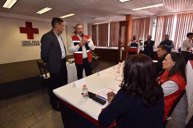 Fortalece Cruz Roja Estado de México protocolos ante Covid-19