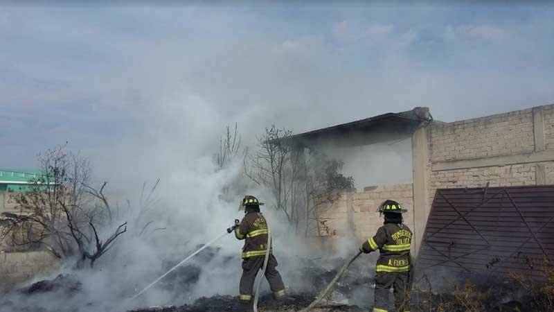 Anualmente, PC y Bomberos atienden hasta 500 incendios de pastizales