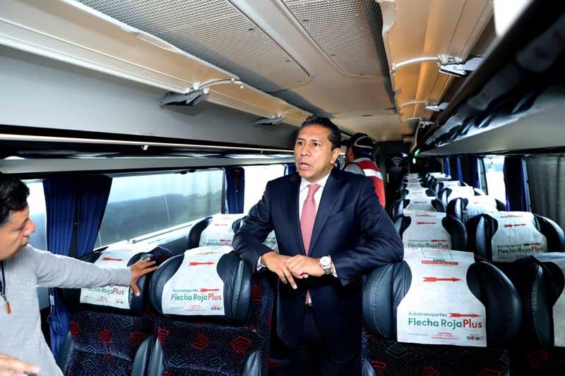 Inicia Juan Rodolfo Sánchez sanitización del transporte público