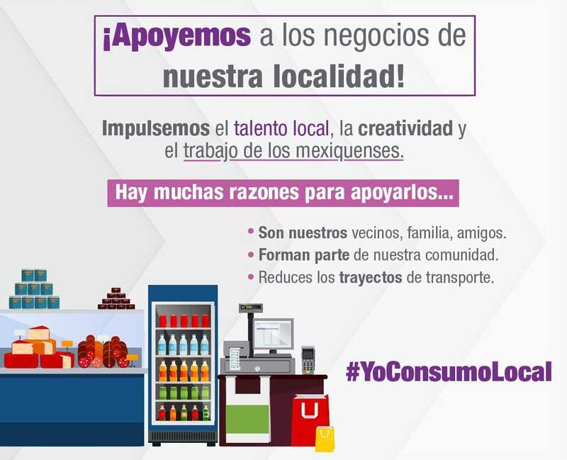 Recomiendan consumir en establecimientos locales ante contingencia