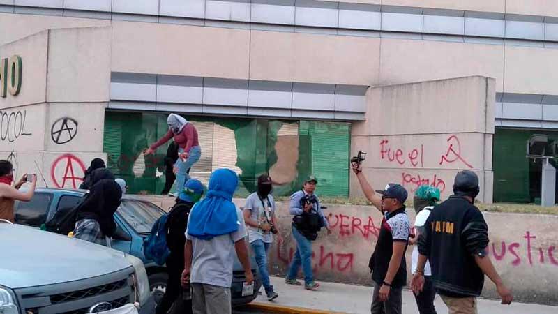 Consejo Universitario avaló emprender acciones contra manifestantes violentos