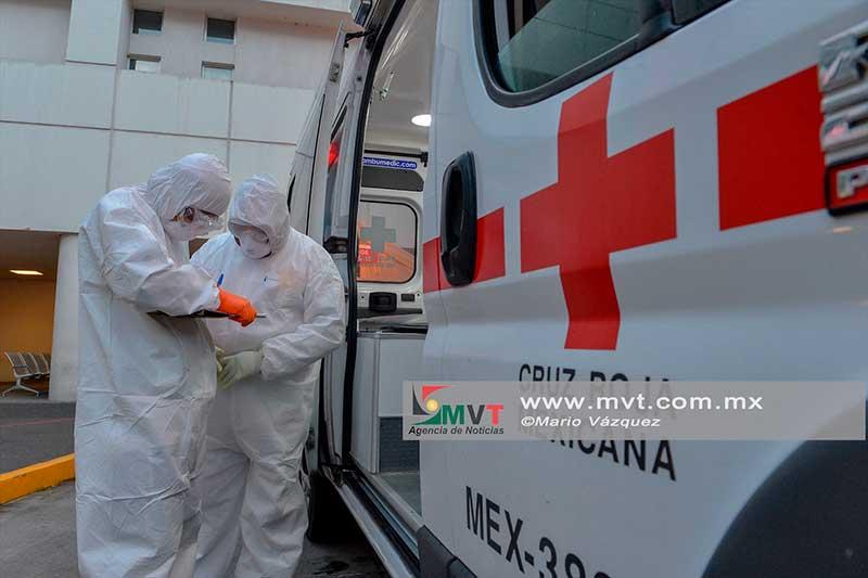 Reconocen a voluntarios de la Cruz Roja por su atención a la Pandemia por Covid-19