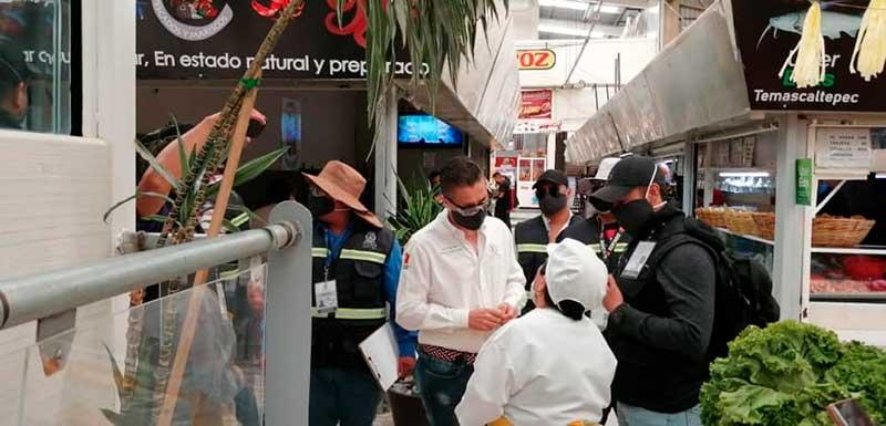 Suspenden siete locales en Toluca por incumplir medidas sanitarias