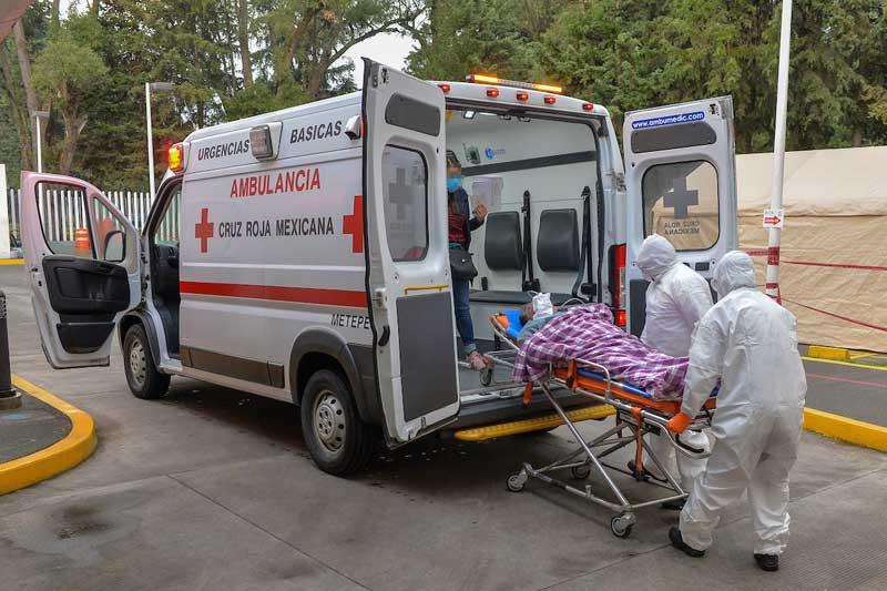 La Cruz Roja del Edomex enfrenta batalla sin precedentes contra Covid-19