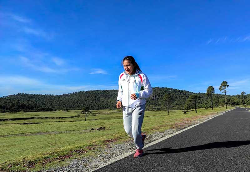 """Ibeth """"La Roca"""" Zamora, afirmó que en lo deportivo, la pandemia le ha afectado"""