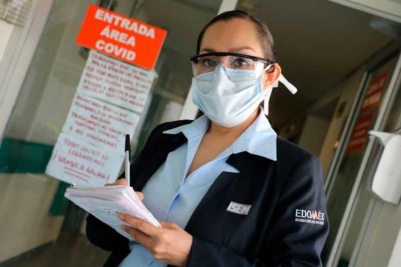 Trabajadoras Sociales del ISEM ofrecen más de 900 mil atenciones durante pandemia de Covid-19